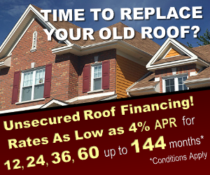 Roof Financing in Birmingham